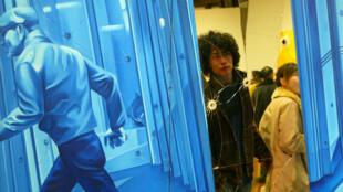 """Exposition """"Nouvelles vagues"""" organisée par le Centre Pompidou en 2012 au National Museum de Shanghai, en Chine."""
