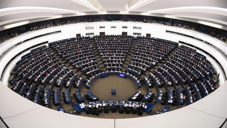 Image du parlement Européen pré Brexit