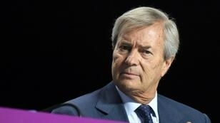 Vincent Bolloré le 19 avril 2018 à Paris