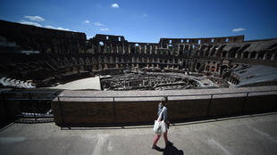 (File Photo) The Roman Coliseum in Rome re-opened on June 1, 2020 after three months of lockdown.