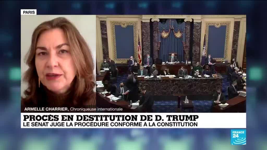 2021-02-10 11:01 Procès en destitution de D. Trump : Un impeachment qui 'n'ira pas jusqu'au bout'