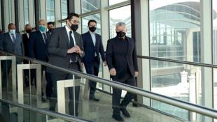 Jordanian King Abdullah II visited the Queen Alia International Airport in Amman ahead of the resumption of flights