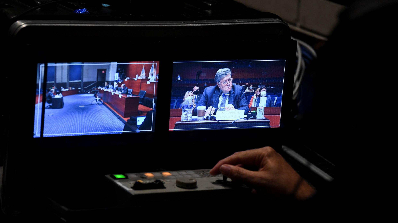 Fiscal General, William Barr, comparece ante el Comité Judicial de la Cámara Baja en Washington, EE. UU., el 28 de julio de 2020.
