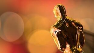 تمثال جوائز الأوسكار، صورة التقطت في 26 شباط/فبراير 2017