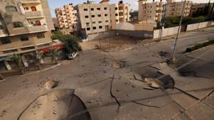 gaza-israel-bombardement