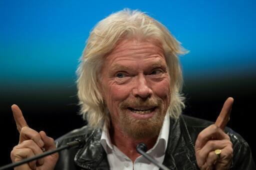 L'homme d'affaires britannique Richard Branson, le 7 février 2019, à Washington