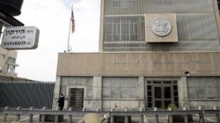 السفارة الأمريكية في تل أبيب