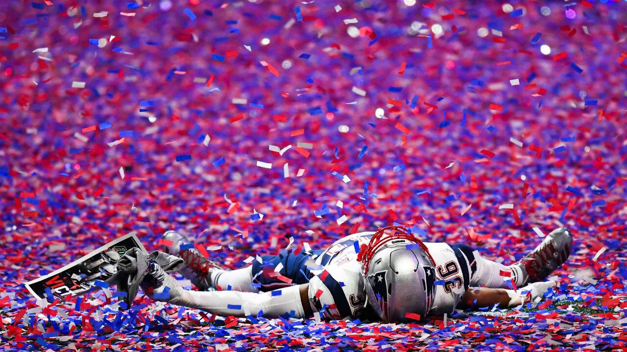 Los Patriots de Nueva Inglaterra se proclamaron campeones de la edición 53 del Super Bowl al vencer por 3-13 a los Rams de Los Ángeles.