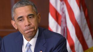 """Barack Obama a reconnu, lundi 8 décembre, que le racisme aux États-Unis n'était pas un problème qui allait """"être résolu du jour au lendemain""""."""