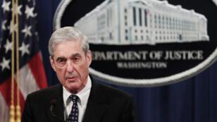 El fiscal especial Robert Mueller de EE. UU. emite una declaración sobre su investigación sobre la interferencia de Rusia en las elecciones presidenciales de Estados Unidos de 2016. Washington, EE. UU., el 29 de mayo de 2019.