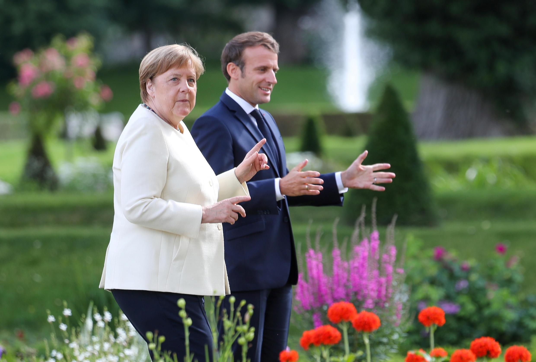 La chancelière allemande, Angela Merkel, reçoit lundi 29 juin le président français, Emmanuel Macron .