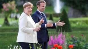 Allemagne Merkel Macron