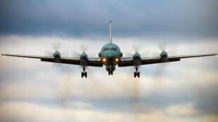 Un avion russe IliouchineIl-20, du même modèle que celui qui a été abattu en Syrie.
