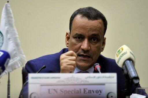 موفد الأمم المتحدة إلى اليمن إسماعيل ولد الشيخ أحمد في 8 أغسطس 2016 في جدة