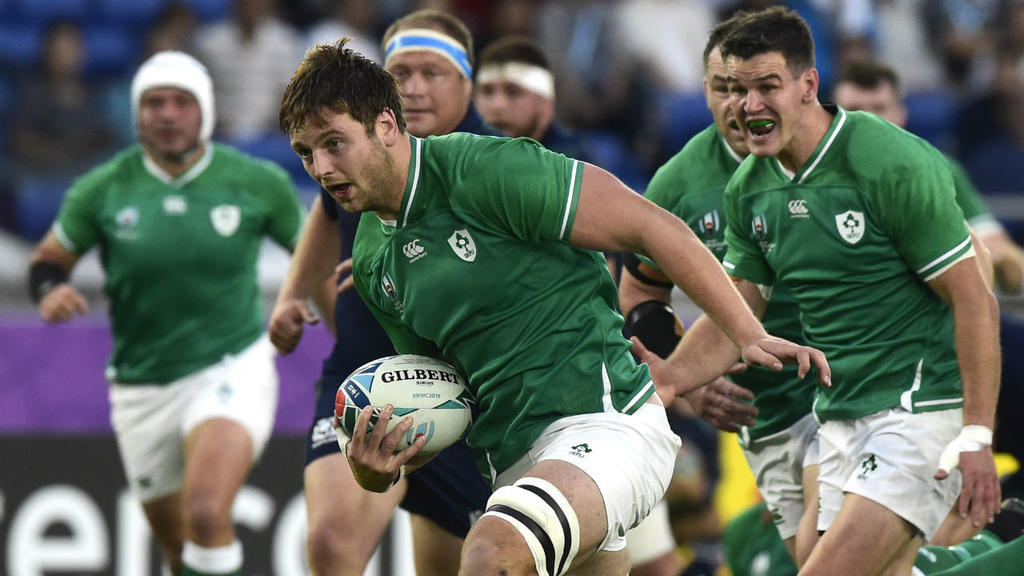 Decisive Rugby World Cup wins for Ireland and England, as Italy struggle