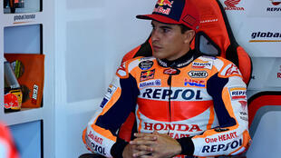 Marquez aiming to ride on Sunday after broken arm surgery