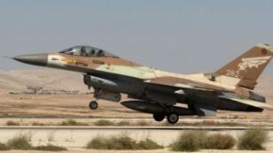 مقاتلة إسرائيلية من طراز إف-16