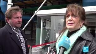 2020-03-02 17:03 Coronavirus : les visiteurs du Centre Pompidou ne se laissent pas impressionner par l'épidémie