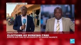 """2020-11-22 09:01 Présidentielle au Burkina : """"l'ouverture des bureaux de vote s'est faite dans le came"""""""