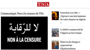 Le siter TSA (Tout sur l'Algérie) est inaccessible depuis le 5 octobre.