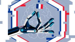 Emmanuel Macron a annoncé jeudi 29 mars un investissement de 1,5 milliard d'euros jusqu'à la fin de son mandat dans l'intelligence artificielle.