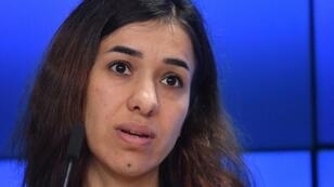 Nobel Peace Prize winner Nadia Murad has called for Islamic State fighters to face trial for their crimes in Iraq