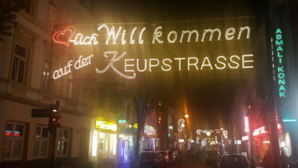 """""""Bienvenue dans la Keupstrasse"""" peut-on lire en arrivant sur cette artère commerçante."""
