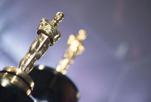 La icónica estatuilla de los premios Óscar, fotografiada en los Ángeles, California, EE. UU., el 1 de marzo de 2018.