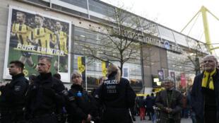 الشرطة الألمانية في مدينة دورتموند