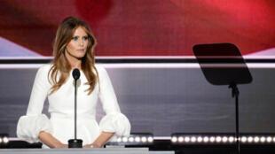 Lors de la convention républicaine de Cleveland, le candidat Donal trump a laissé la parole à sa femme Melania... à ses risques et périls.