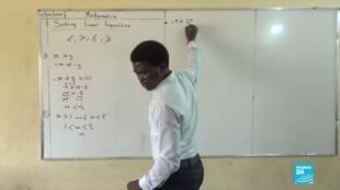 2020-06-03 12:11 Covid-19 au Nigeria : le brevet des collèges reporté, les élèves se préparent à distance