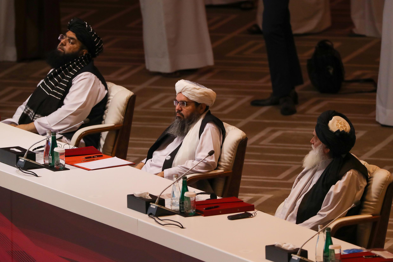 وفد حركة طالبان في محادثات السلام بالدوحة