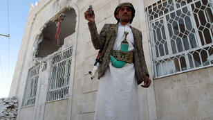 Un milicien chiite houthi à Sanaa le 19 janvier 2015.