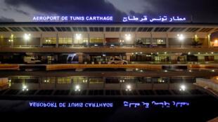 L'aéroport international de Tunis-Carthage, le 25 mars 2017.