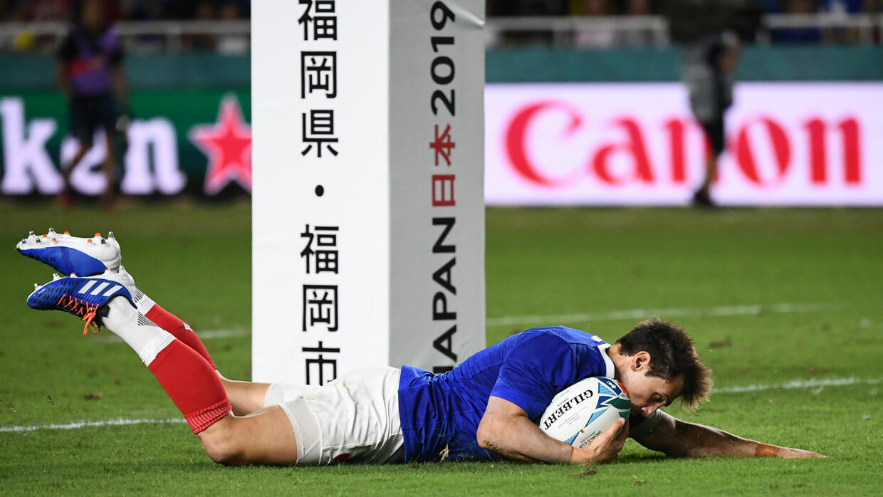 France thrash USA 33-9 in Rugby World Cup