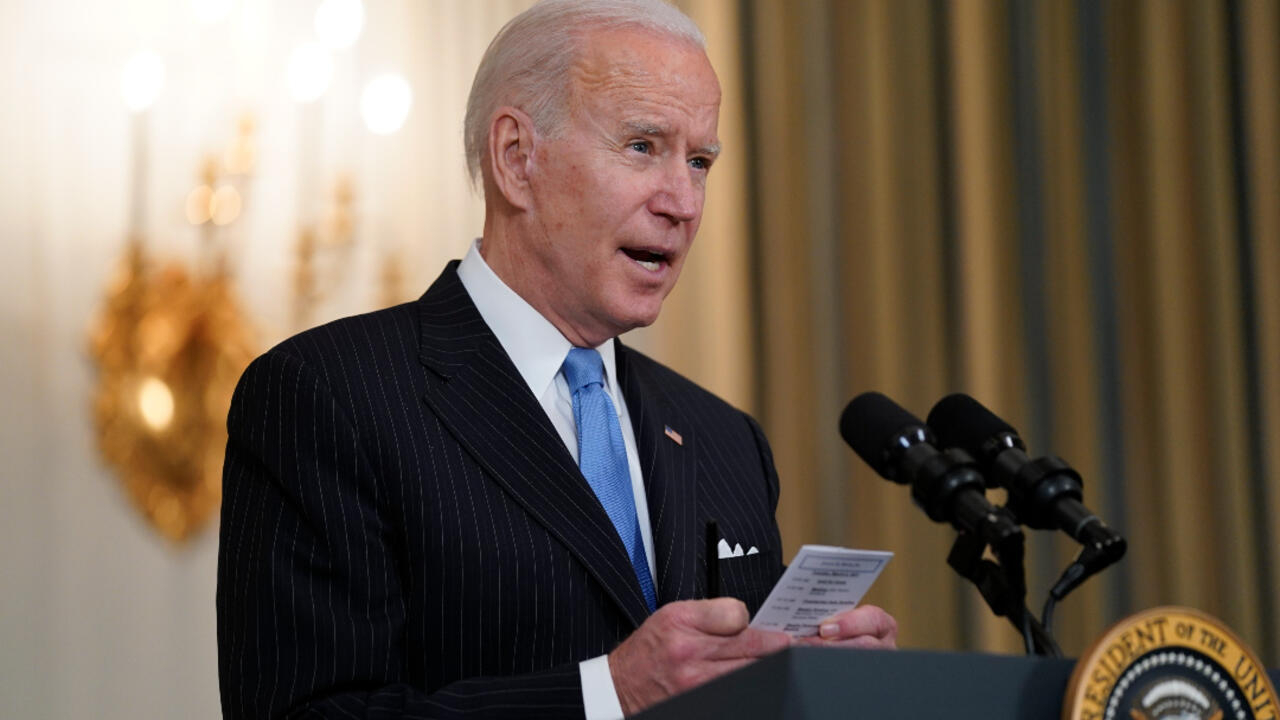 Covid-19: Biden says US will have enough supply for all adults by end of May