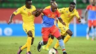 مباراة الكونغو الديمقراطية وتوغو خلال كأس الأمم الأفريقية لكرة القدم 24 يناير 2017