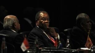 eSwatini's Prime Minister Barnabus Sibusiso Dlamini, pictured in 2009,has died at the age of 76