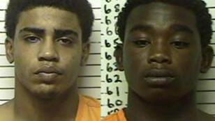 Les adolescents inculpés pour meurtre, Chancey Luna  et James Edwards