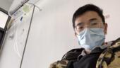 معاناة صيني شُفي من فيروس كورونا المستجدّ