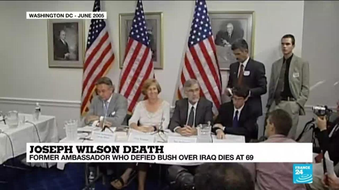 Joe Wilson Us Diplomat Who Blew The Whistle On Iraq War Evidence Dies At 69 France 24 Check out joe wilson on beatport. joe wilson us diplomat who blew the whistle on iraq war evidence dies at 69