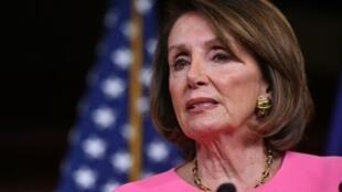 La présidente de la Chambre des représentants Nancy Pelosi, le 23 mai 2019 à Washington