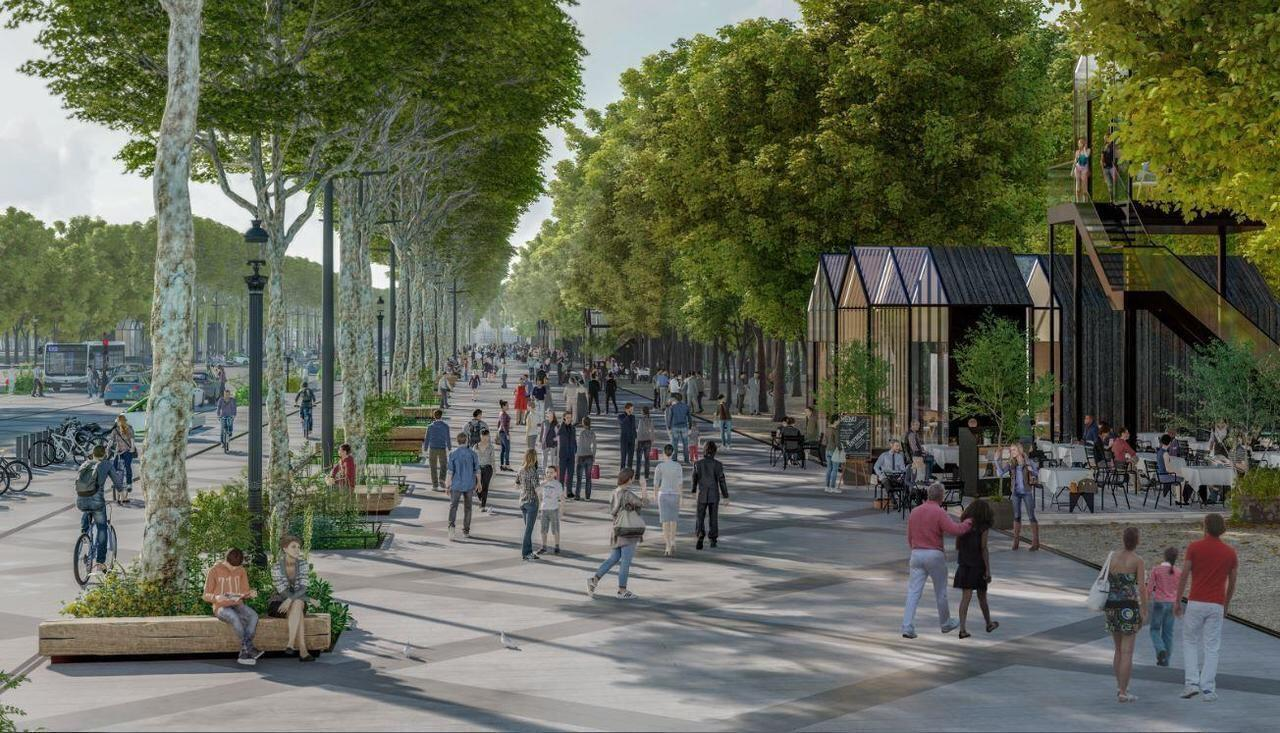 PCA-STREAM proposes planting more than a thousand trees along the promenade.