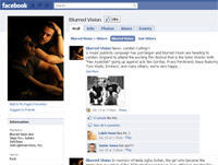 """""""Blurred Vision's"""" Facebook page that the band is using to promote its new song """"Ayatollah, Leave Those Kids Alone"""""""
