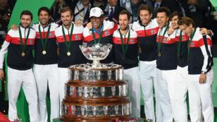 L'équipe de France a remporté sa 10e Coupe Davis.
