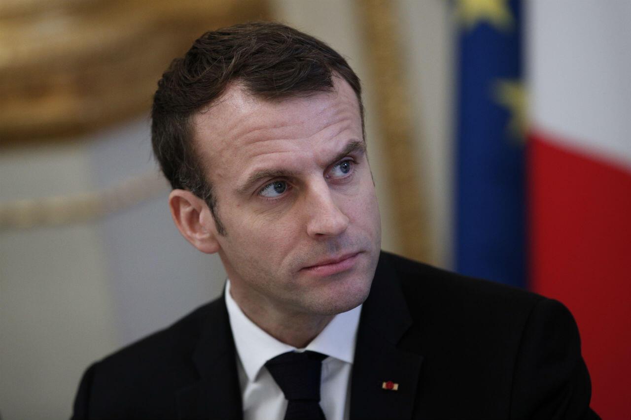 Emmanuel Macron a reçu lundi 10 décembre plusieurs représentants au palais de l'Élysée, à Paris.