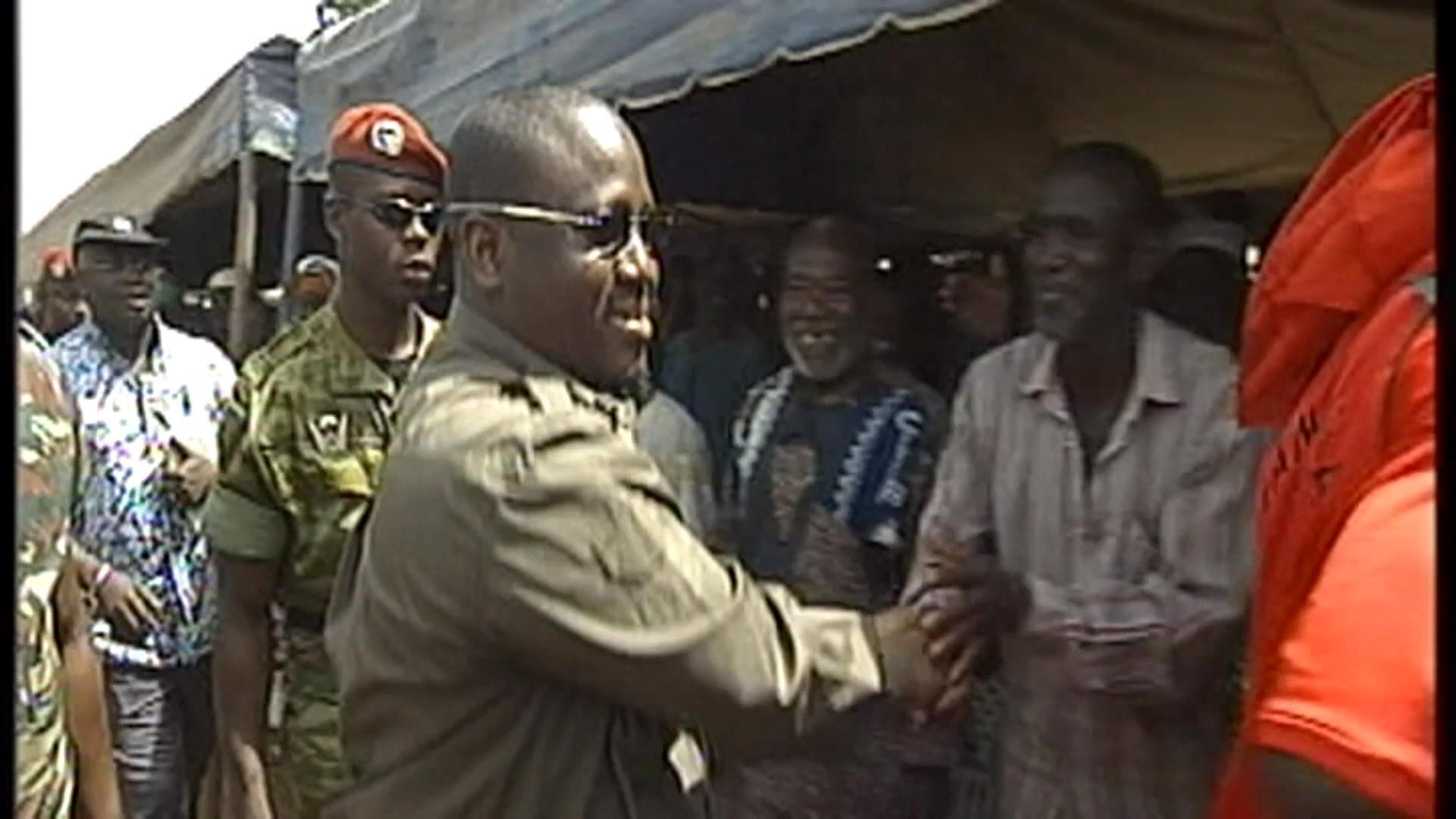 Guillaume Soro en Côte d'Ivoire (archives)