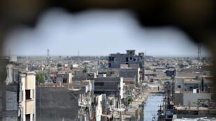Vue de la ville irakienne de Ramadi, le 24 juin 2014.