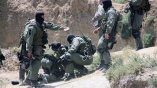 عناصر من الجيش التونسي