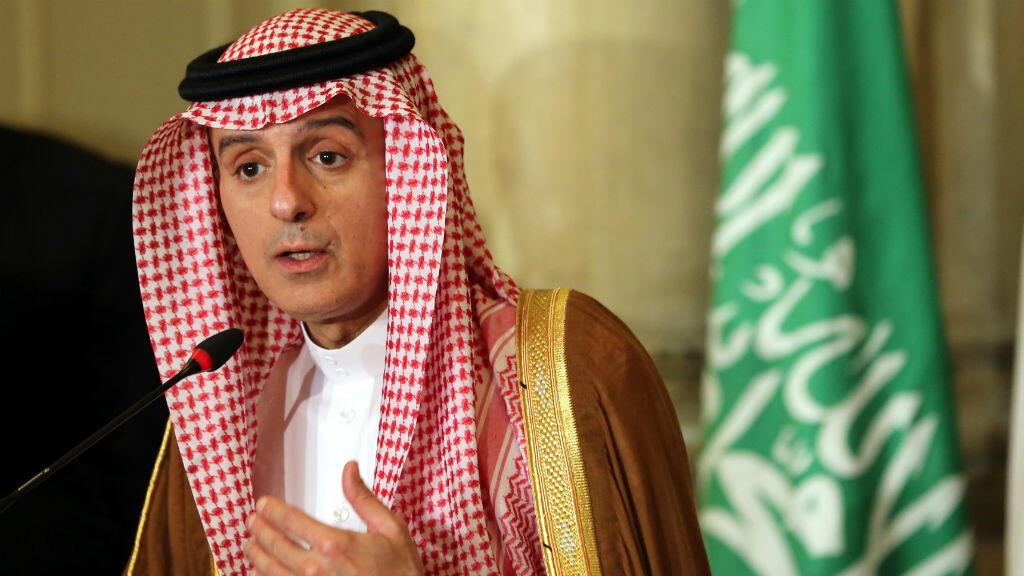 Le ministre saoudien des Affaires étrangères, Adel al-Jubeir, lors d'une conférence de presse au Caire, le 5 juillet 2017.